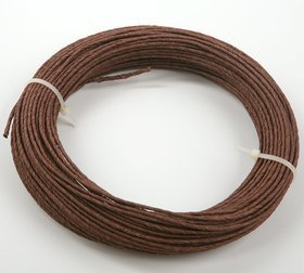 Floral wire in 12m brown paper