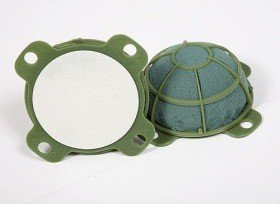 Floristic sponge to stick Turtle mini