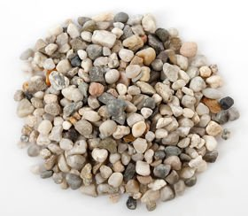 Fluvial pebbles 200 g - natural