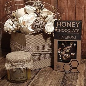 Gift basket Mother's Day, birthday, name day, a gift for companies - Gift set wz 110