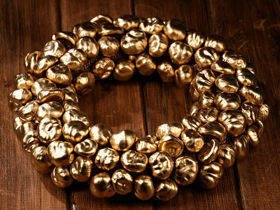 Gold Chestnut Miracle- Wreath ca.30cm
