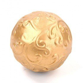 Gold, ceramic ball, 8,5 cm