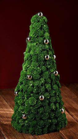 Green Christmas tree 35-40 cm