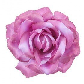 Head of rose purple 3 14 cm