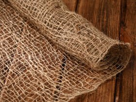 Jute fabric 70 cm x 3 yd - natural