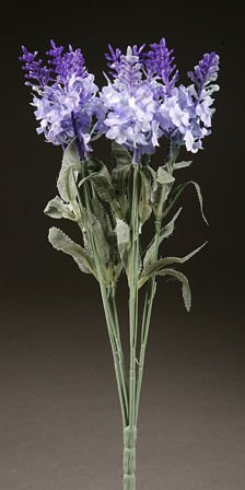 Lavender bouquet of 10 flowers 32 cm