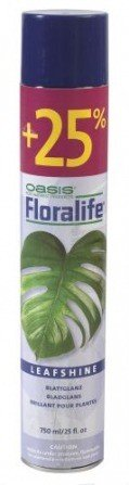 Leaf shine spray, Oasis 750ml