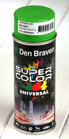 Light green spray paint 400 ml RAL 6018