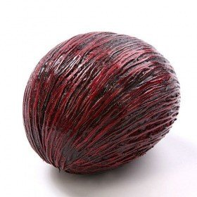 Mintola ball, ca. 7 - 10 cm, claret lacquered