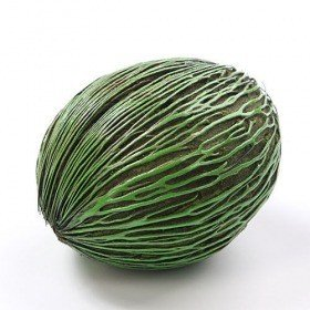 Mintola ball, ca. 7 - 10 cm, green lacquered