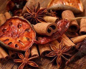Natural Potpourri –Smell of Cinnamon, Anise and Hot Pepper (D)