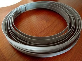 PLASTIC WIRE two-core 8mm -10 m haberdashery wire.