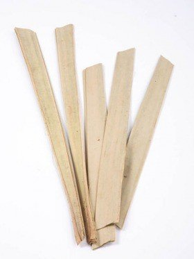 Palm leaf 30-40 cm 6  pcs/pkg natural
