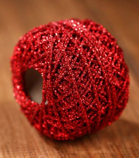 Red Decorative String 50m
