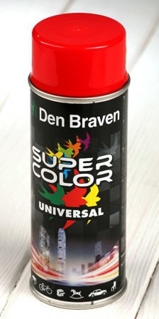Red spray paint 400 ml RAL 3020