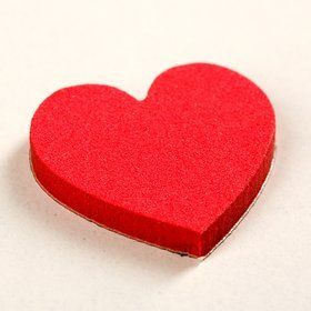 Self-adhesive hearts 1.5-5 cm-14 pcs