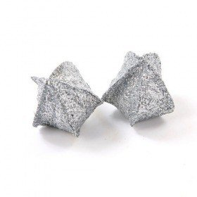 Set of 10 Physalis, glittered