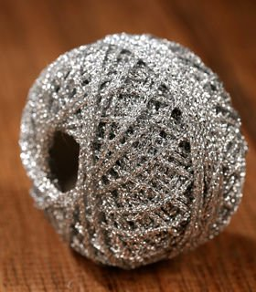 Silver Decorative String 50m