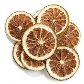 Slices of green oranges, 12 pcs.