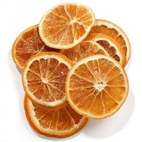 Slices of oranges, 10 pcs/pkg