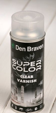 Spray paint CLEAR VARNISH 400 ml