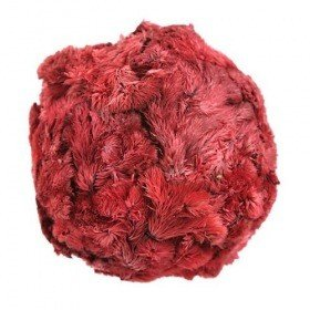 Star Flower balls, 6-7 cm, red