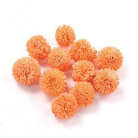 Star Flowers 2 cm 24 pcs/pkg, peachy