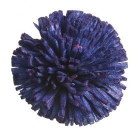 Star flowers, 3 cm, 24 pcs/pkg - navy blue