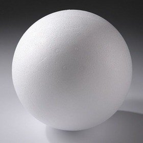 Styrofoam ball, diameter 25cm | Styrofoam ball 250 mm