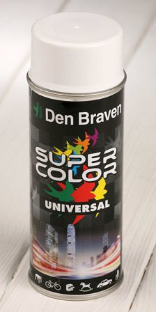 White spray paint 400 ml RAL 9010