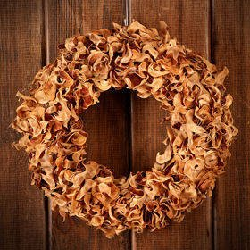 Wreath- Exotic Curly Natural ca.30cm