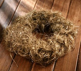 Wreath dried decorative decorative grass Gold Grass about 30 cm