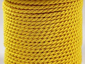 Yellow Decorative Cord 5m