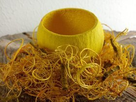 Yellow spring nest