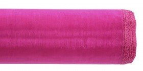 xxxOrganza GD 12 cm, 9m length, bordered - bright purple