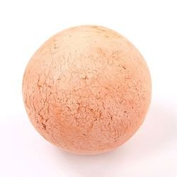 earthen ball, 9 cm