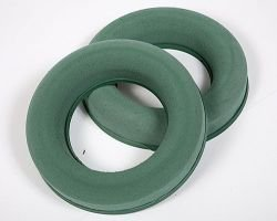Floristic ring, 17 cm sponge on a stand