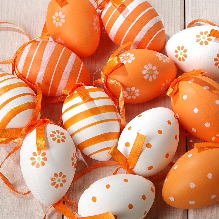 Orange eggs 6 pcs/pkg (4-6cm)