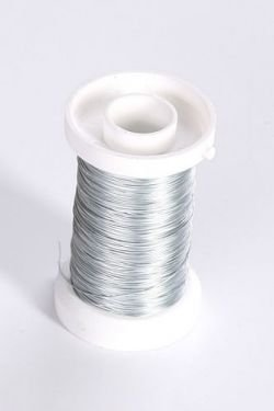 Zinc-coated wire on spool 75 g