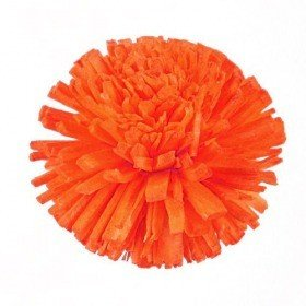 Star Blumen, 3 cm, 24 Stck - orange